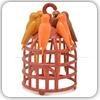 چنگال میوه خوری طرح قفس