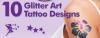 کیت کامل تاتو مجلسی درخشان شیمر اصل glitter tattoo kit