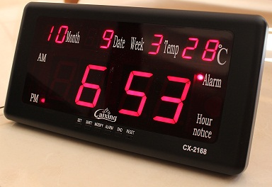 ساعت رومیزی دیجیتالی LED دیواری و رومیزی LED DIGITAL CLOCK